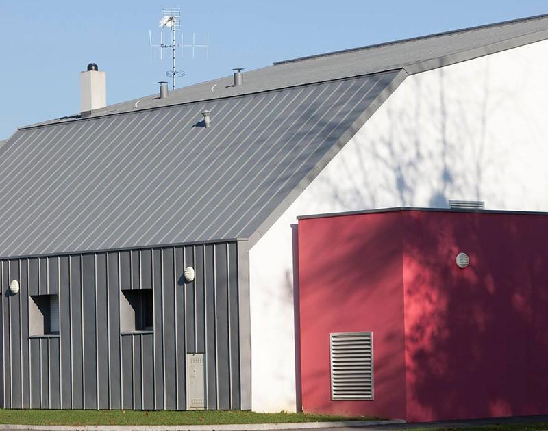 DESLAURIERS Charpentier Couvreur Centre Socioculturel Evron 2 58